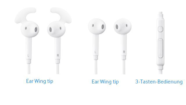 In-Ear Fit © Samsung