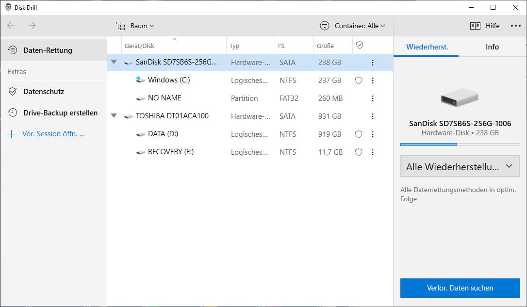 Screenshot 1 - Disk Drill