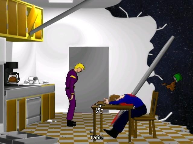 Screenshot 1 - Space Quest: Incinerations