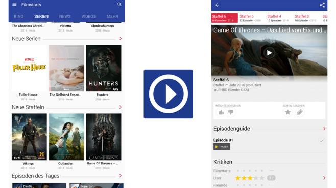 Filmstarts – Kino, Film, Serien ©AlloCiné