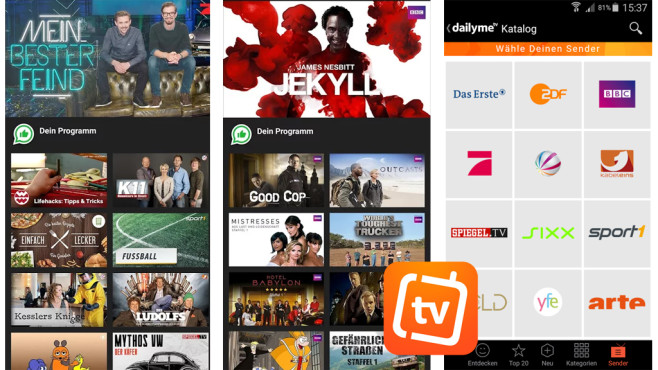 dailyme TV, Serien & Fernsehen ©dailyme TV GmbH