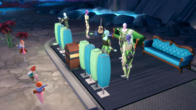 Sims 4 - An die Arbeit ©Electronic Arts