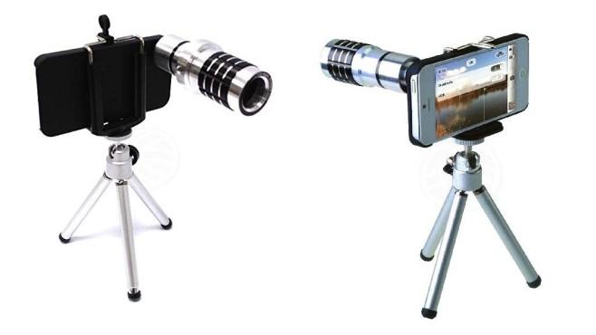 Cablematic Teleobjektiv mit Stativ ©Cablematic