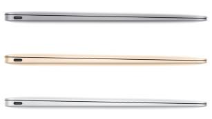 Das neue MacBook in drei Farben©Apple