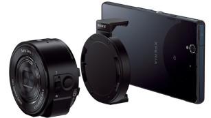 Für das perfekte Selfie: Smartphone-Objektive im Überblick Sony DSC-QX10: Das Smartphone übernimmt die Steuerung und die Funktion als Sucher.©Sony