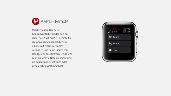 Amplifi Remote © Apple