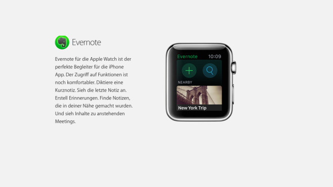 Evernote © Apple