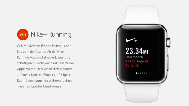 Nike+ Running © Apple