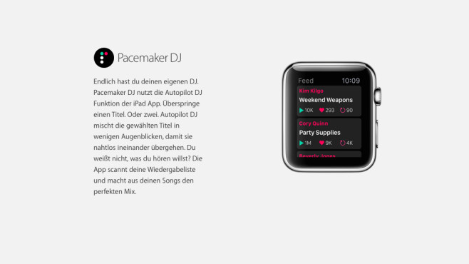 Pacemaker DJ © Apple