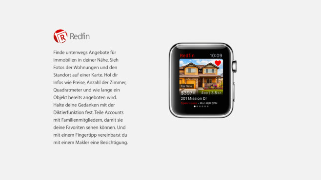 Real Estate by Redfin © Apple