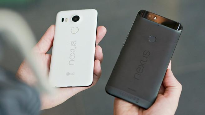 Nexus 5X Nexus 6P©COMPUTER BILD