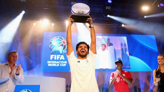 FIWC 2015: Weltmeister Abdoulaziz Alshehri©FIFA, EA, FIWC-Facebook-Seite