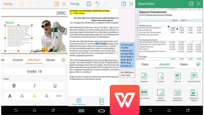 Die besten Office-Apps für Tablets & Co  - Bilder, Screenshots