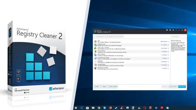 Ashampoo Registry Cleaner 2 – Kostenlose Vollversion: Dedizierter Cleaner ©COMPUTER BILD