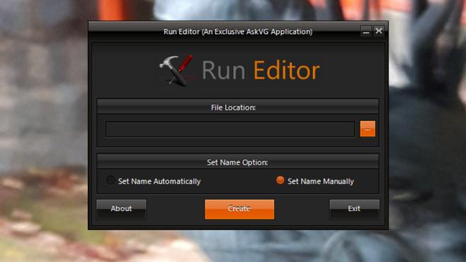 Run Editor: Ausführen-Einträge erstellen ©COMPUTER BILD