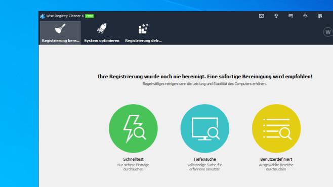 Wise Registry Cleaner: System optimieren und konfigurieren ©COMPUTER BILD