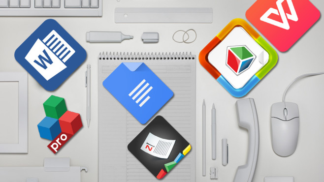 Office-Apps©Schuster/gettyimages, Microsoft, Google, Kingsoft Office Software, MobiSystems, Artifex Software Inc., Zoho Corp.