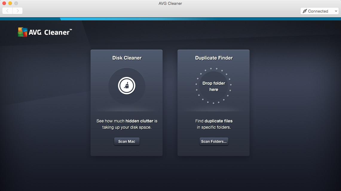 Screenshot 1 - AVG Cleaner (Mac)