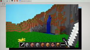 Minecraft Pi©COMPUTER BILD