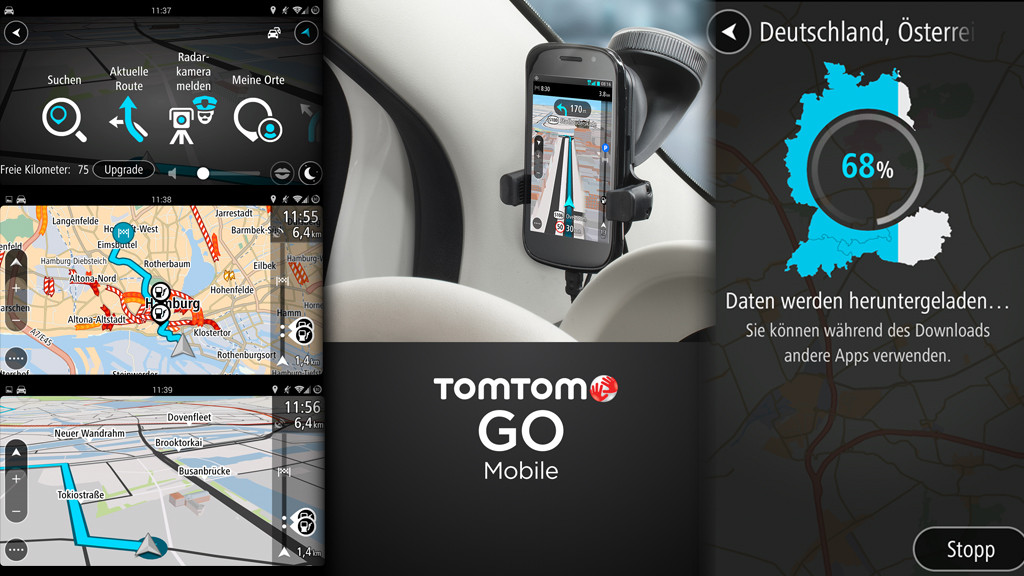 tomtom go f r android ver ffentlicht computer bild. Black Bedroom Furniture Sets. Home Design Ideas
