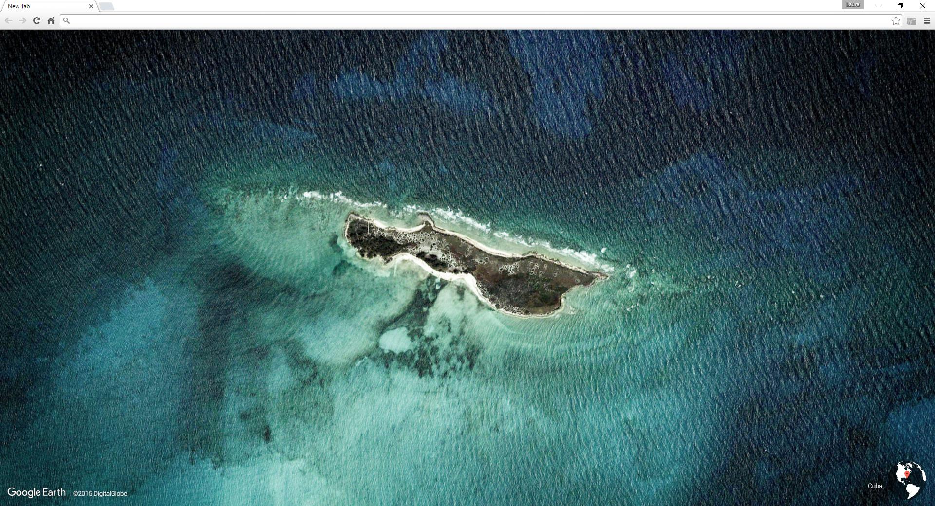 Screenshot 1 - Earth View from Google Maps für Chrome