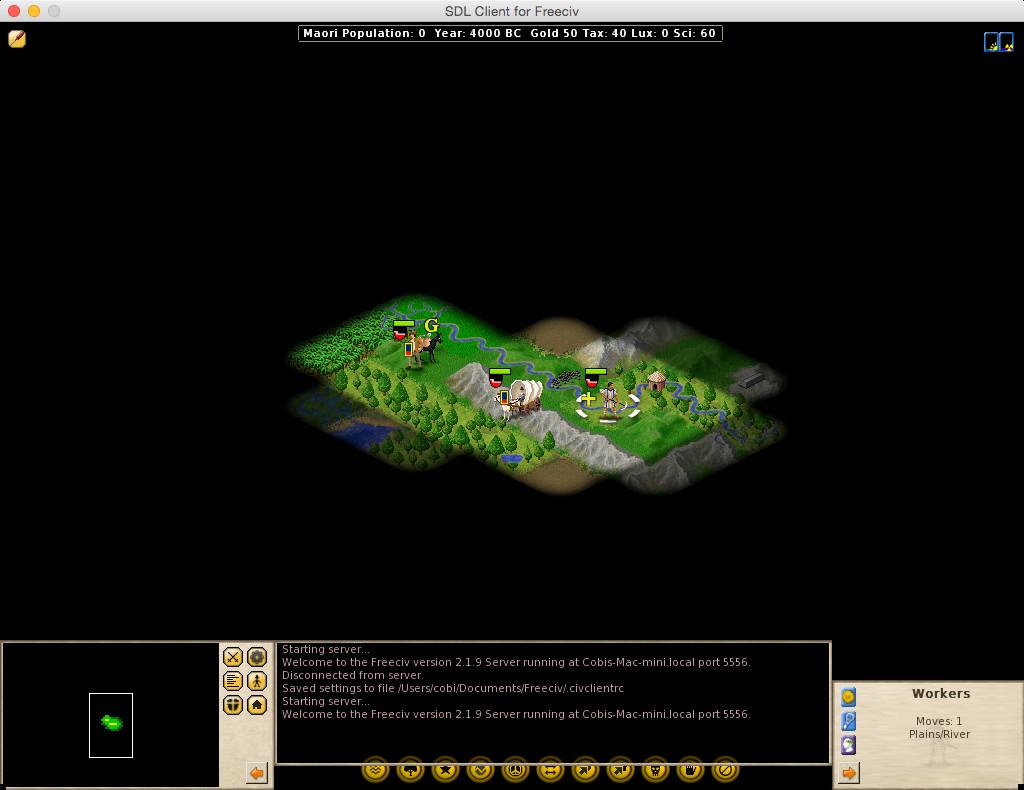 Screenshot 1 - Freeciv (Mac)