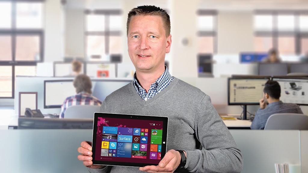 Microsoft Surface 3©COMPUTER BILD