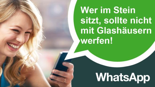 WhatsApp-Scherzsprüche zum 1. April©Ezra Baily/gettyimages