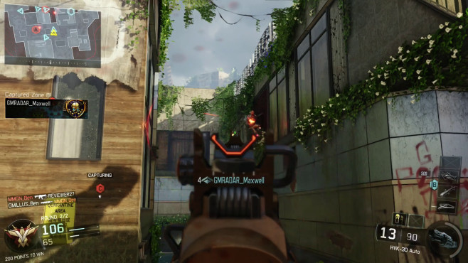 Call of Duty – Black Ops 3 Wallrun © Activision