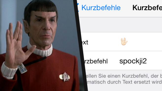 Spock-Gruß für iOS©Apple, https://www.flickr.com/photos/geraldford/