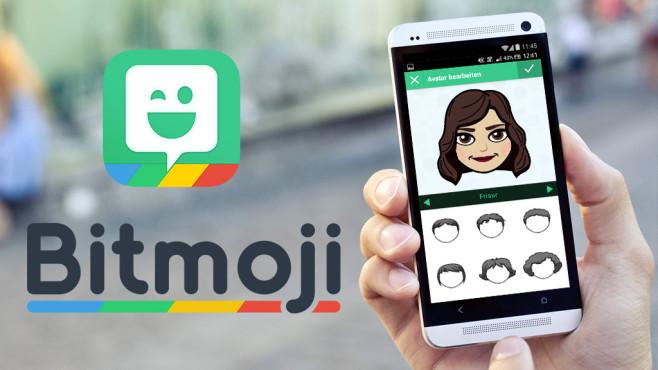 Werden Sie zum Emoji©Bitmoji by Bitstrips