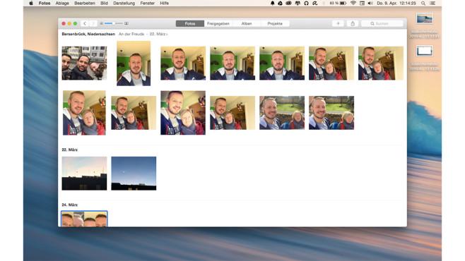 Fotos für Mac OS ©Apple; COMPUTER BILD