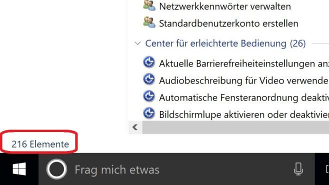 Windows-10-GodMode beweist: Die Systemsteuerung kann immer weniger©COMPUTER BILD