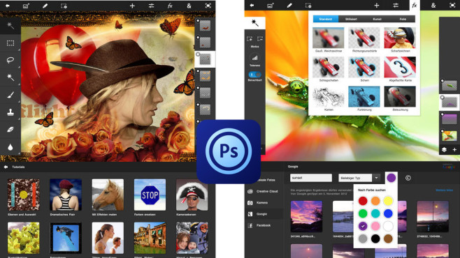 Photoshop Touch © Adobe Systems