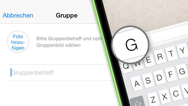 WhatsApp-Gruppen: Die 10 besten Chat-Funktionen Mit WhatsApp chatten Sie nicht nur mit einzelnen Personen, sondern auch ganzen Gruppen. COMPUTER BILD zeigt, wie es geht!©COMPUTER BILD