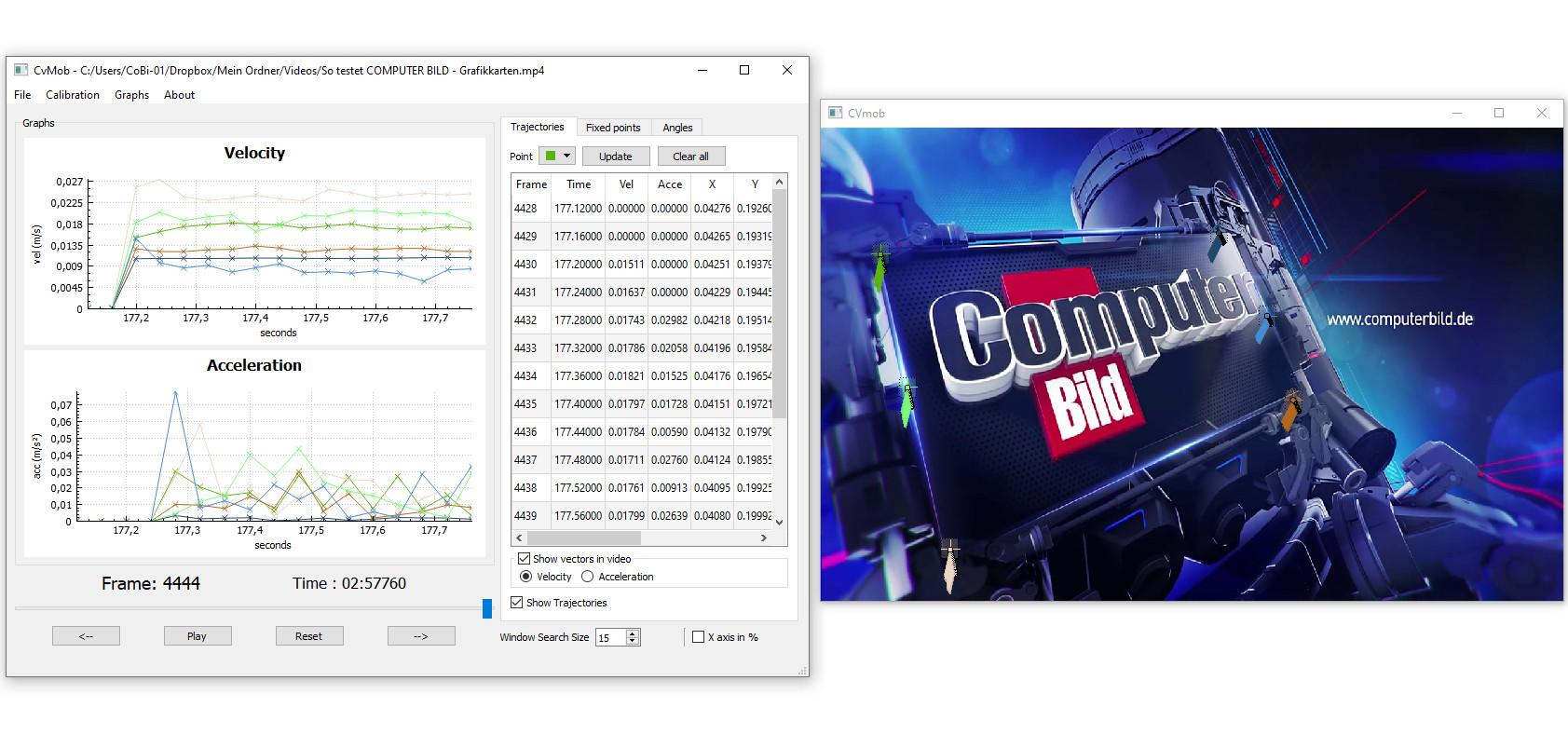 Screenshot 1 - CvMob