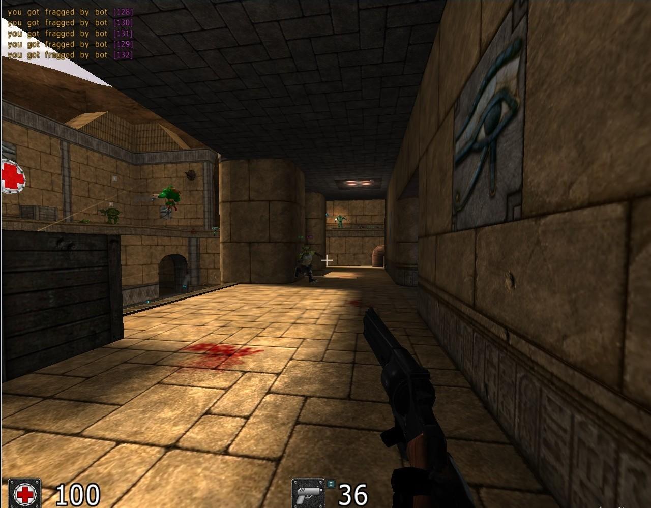 Screenshot 1 - Cube 2: Sauerbraten (Mac)