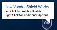 Screenshot 1 - VoodooShield