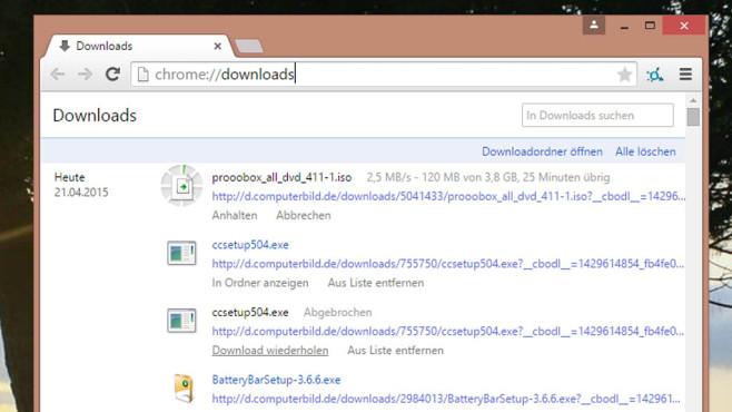 Firefox und Chrome: Einfache WLAN-Benchmarks ©COMPUTER BILD
