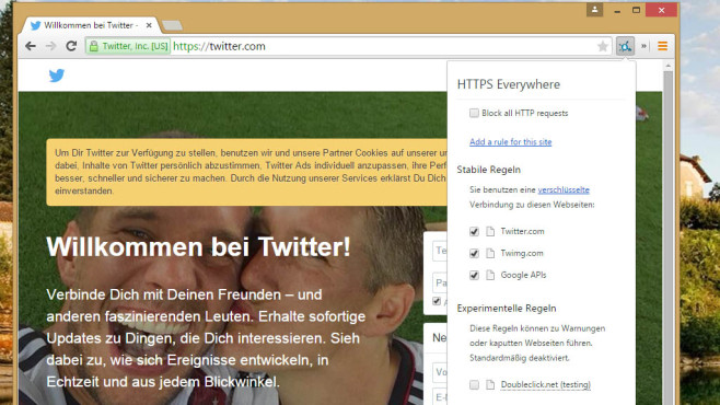 HTTPS Everywhere: Lauscher aussperren © COMPUTER BILD