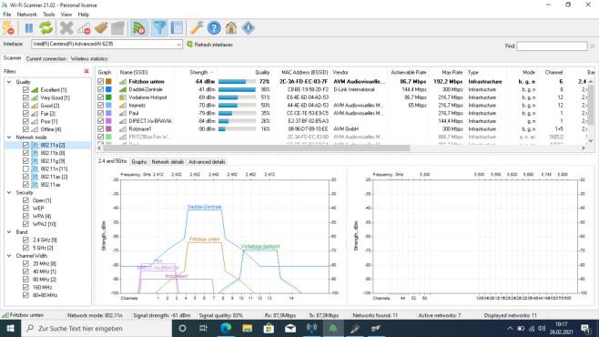 Wi-Fi Scanner: WLAN-Netze professionell analysieren ©COMPUTER BILD