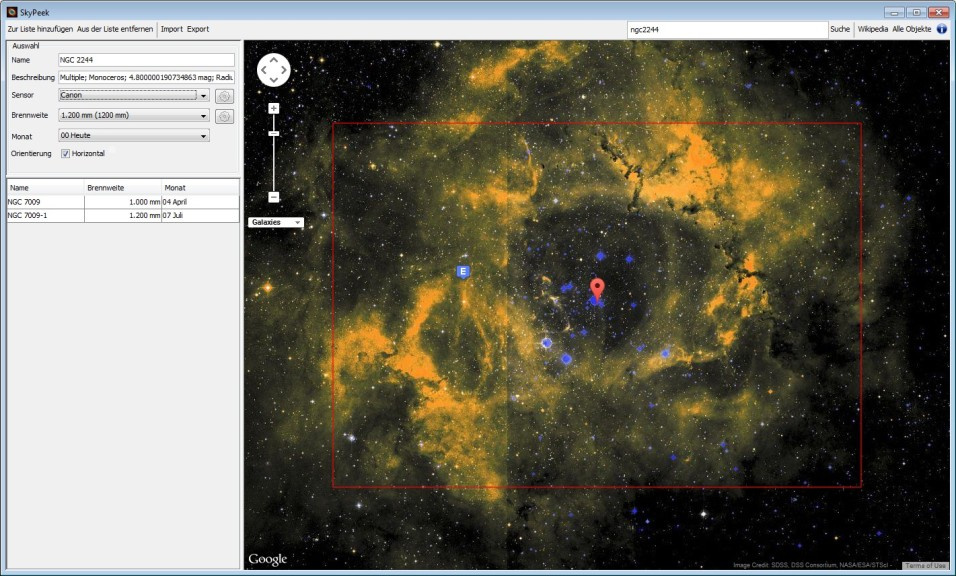 Screenshot 1 - SkyPeek