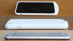 Aus elegant wird Plump: Die Hülle für der iPhone 6 ist viel zu dick©Katharina Rose / COMPUTER BILD