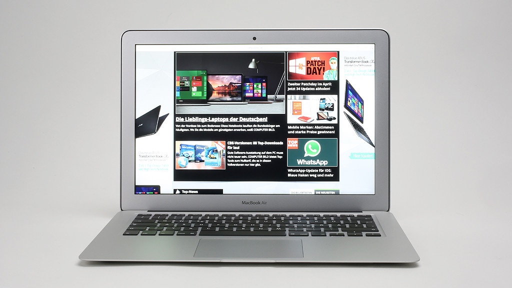 MacBook Air: Test des überarbeiteten Notebooks©COMPUTER BILD