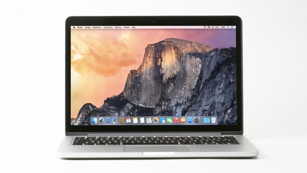 MacBook Pro: Test des überarbeiteten Edel-Notebooks©COMPUTER BILD