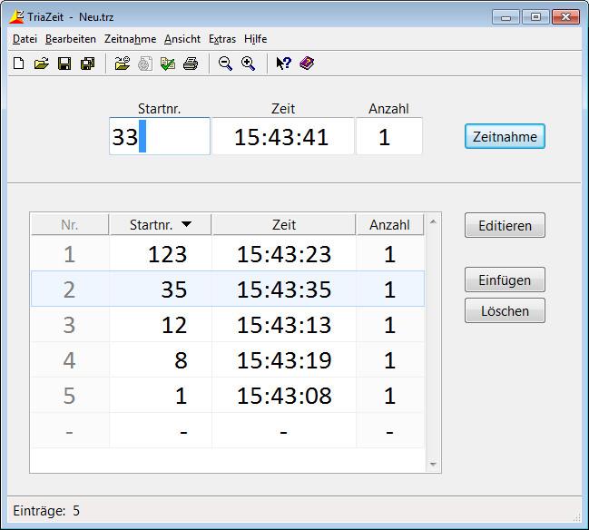 Screenshot 1 - TriaZeit