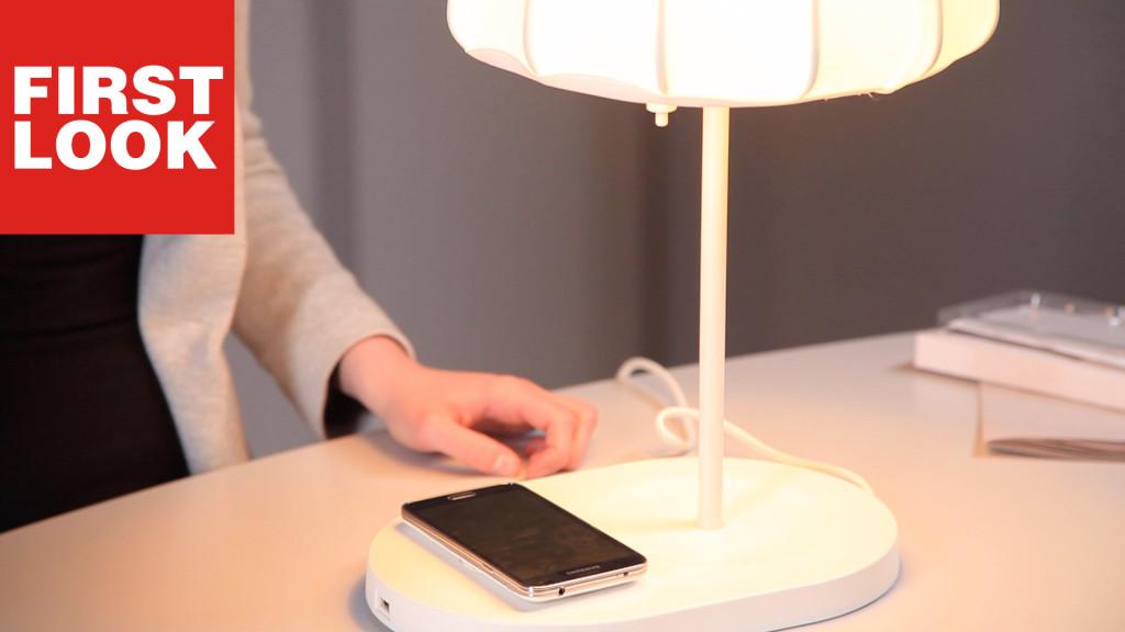 Ikea VarvKabellos Smartphone Smart Lamp Das Laden IH9D2EWY