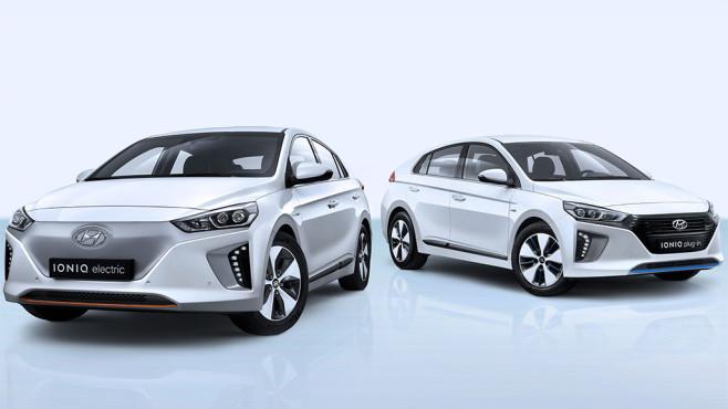 Hyundai Ioniq electric ©Hyundai