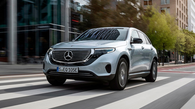 Mercedes-Benz EQC 400 4Matic © Mercedes-Benz