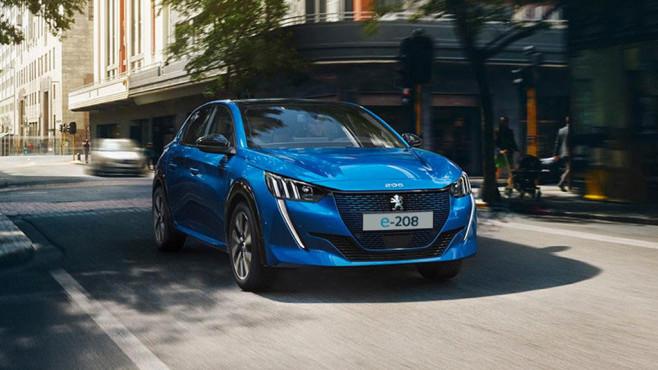 Peugeot e-208 ©Peugeot